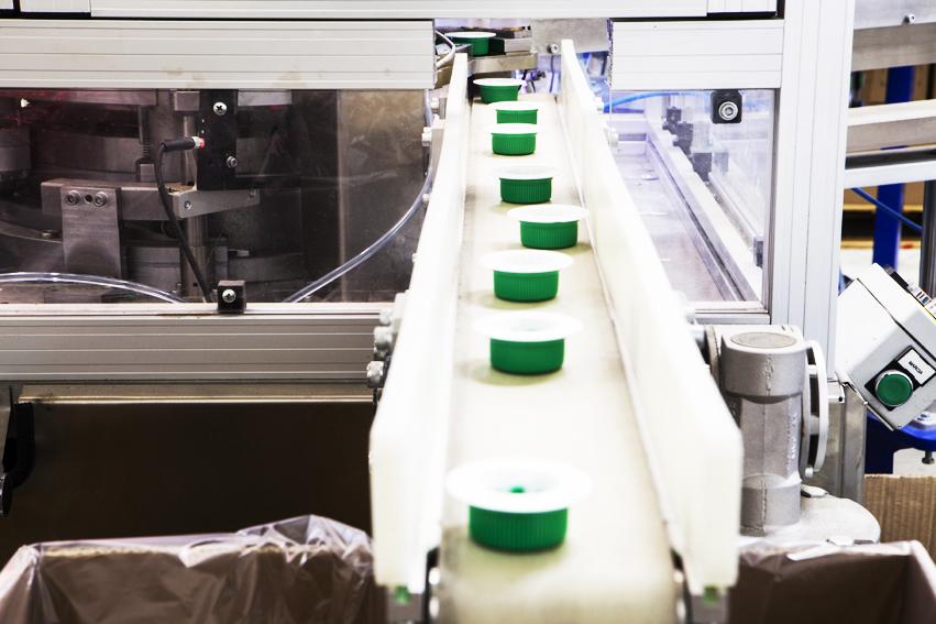 Una vista degli stampati Easy Plast appena prodotti